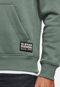 G-Star - VARSITY FELT HDD SW L\S JUNGLE MEN - Hoodie - jungle - 3