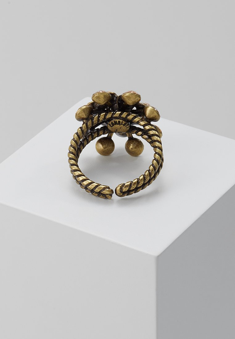 Konplott MAGIC FIREBALL - Ring - beige big antique/sølv w2Dfw3PlTsagMdP