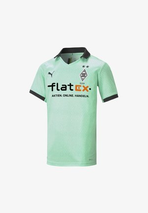 BORUSSIA MÖNCHENGLADBACH - Club wear - green glimmer-black
