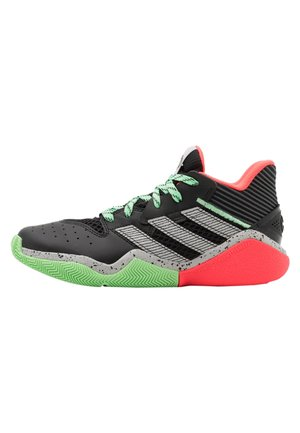 HARDEN BOUNCE BASKETBALL SHOES UNISEX - Basketbalové boty - core black/grey two/glow mint