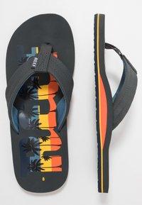 Reef - WATERS - T-bar sandals - grey - 1