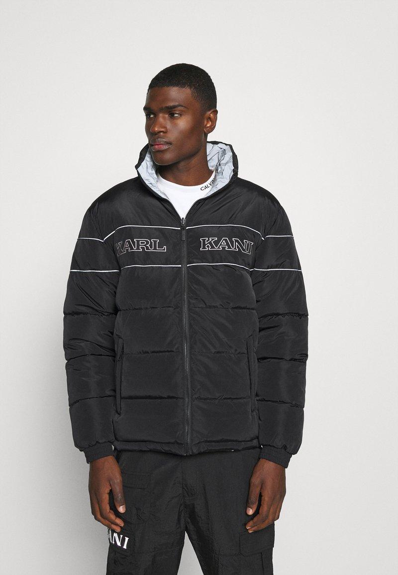 Karl Kani - RETRO REVERSIBLE PUFFER JACKET - Winter jacket - black