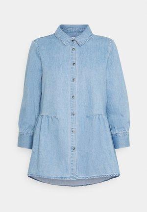 ONLMARY CANBERRA AUTHENTIC  - Button-down blouse - medium blue denim