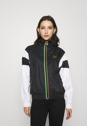 TRACK JACKET - Trainingsjacke - black