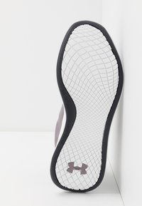 Under Armour - CHARGED AURORA - Sports shoes - slate purple/white/blackout purple - 4
