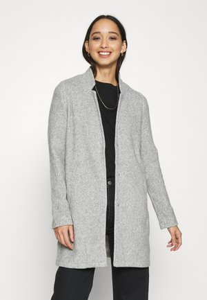 VMBRUSHEDKATRINE JACKET - Kort kappa / rock - light grey melange