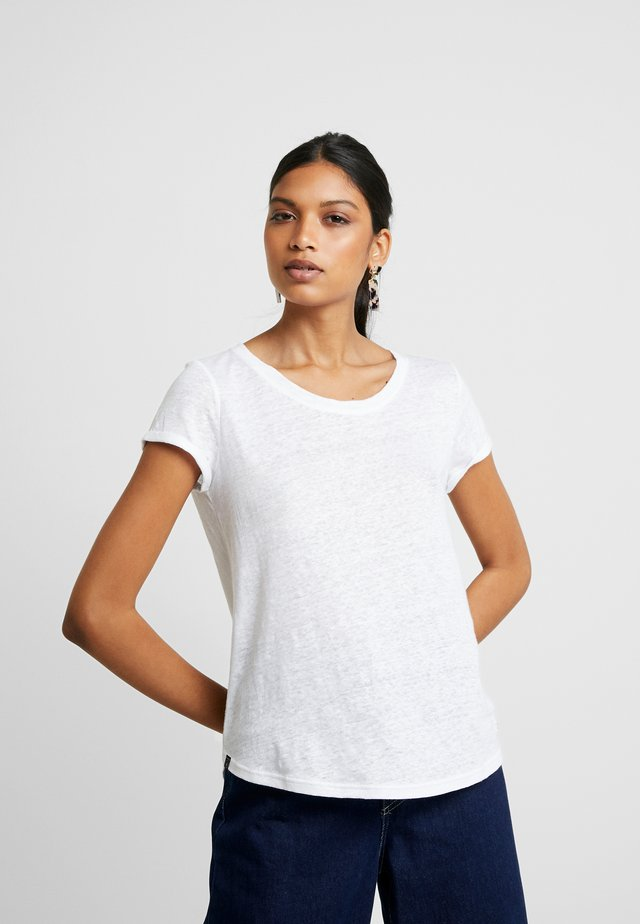ALMA TEE - Basic T-shirt - white