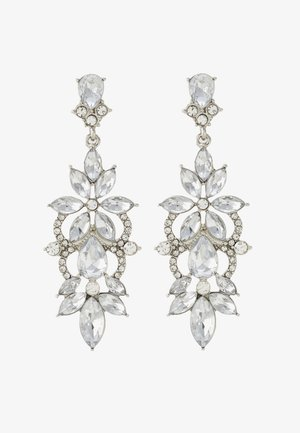 PCFLO EARRINGS - Earrings - silver-coloured