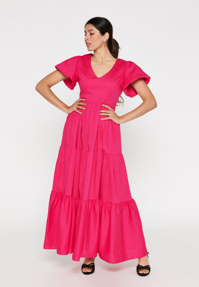 TATIANA SILVA - Maxi dress - fuchsia