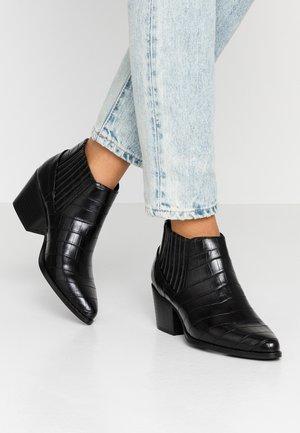 OLI - Kotníková obuv - black