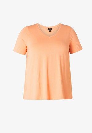 ALBA - Basic T-shirt - pastel coral