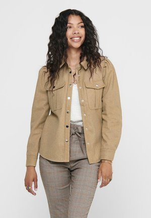 Button-down blouse - curds whey