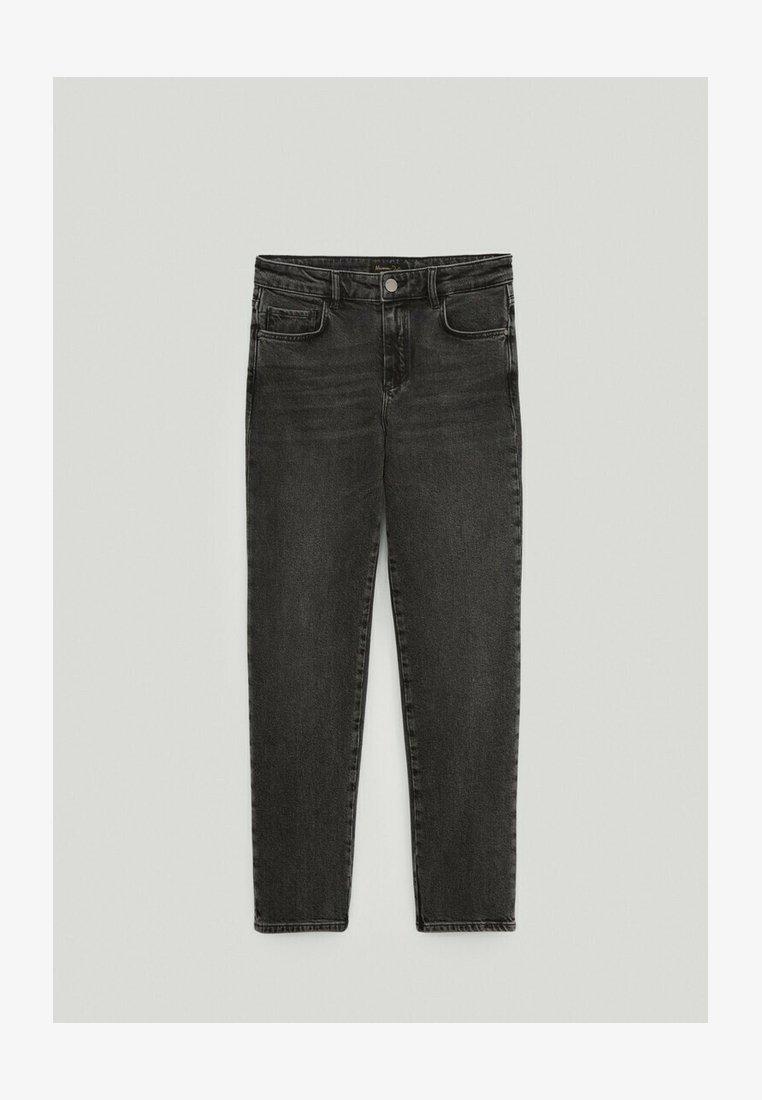 Massimo Dutti - Straight leg jeans - black