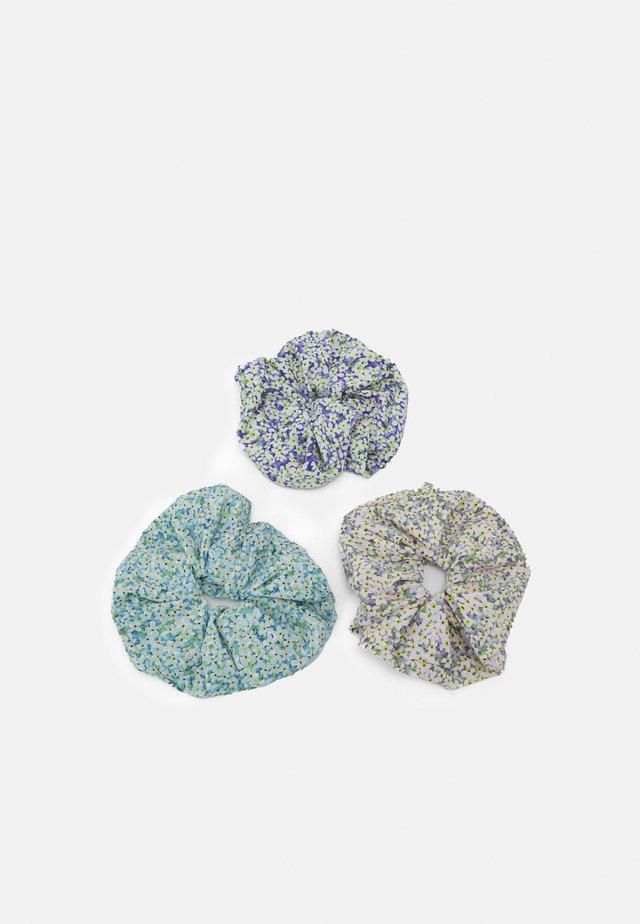 PCKATTIA OVERSIZED SCRUNCHIE 3 PACK - Accessoires cheveux - dahlia purple/rose blue