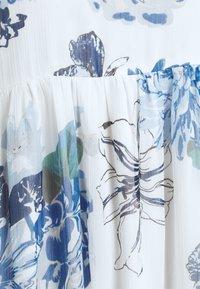 Vila - VIVIOLA STRAP DRESS - Day dress - cloud dancer/blue - 5