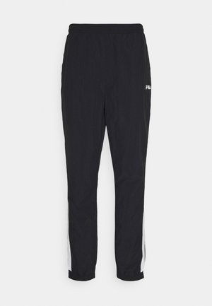 AERO PANTS - Pantalon de survêtement - black/bright white