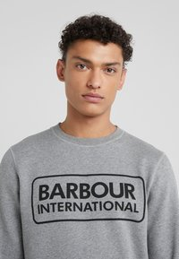 Barbour International - LARGE LOGO - Sweatshirt - anthracite marl - 4