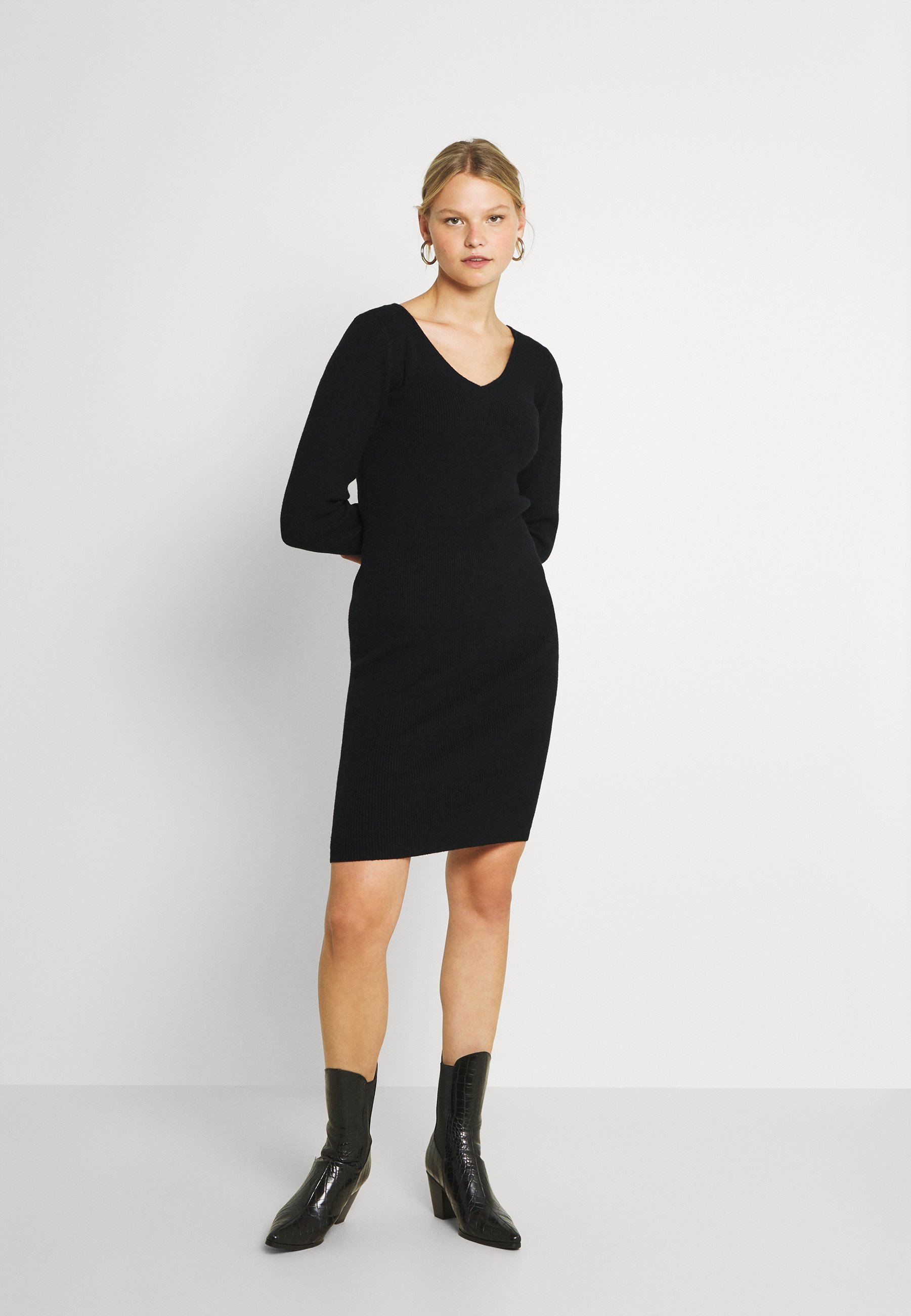 Donna VIPILLA V-NECK DRESS - Abito in maglia