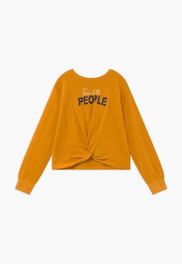 TEENS TIE FRONT - Sweatshirt - honig