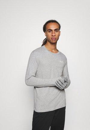 CHROMIA - Camiseta de manga larga - light middle grey melange