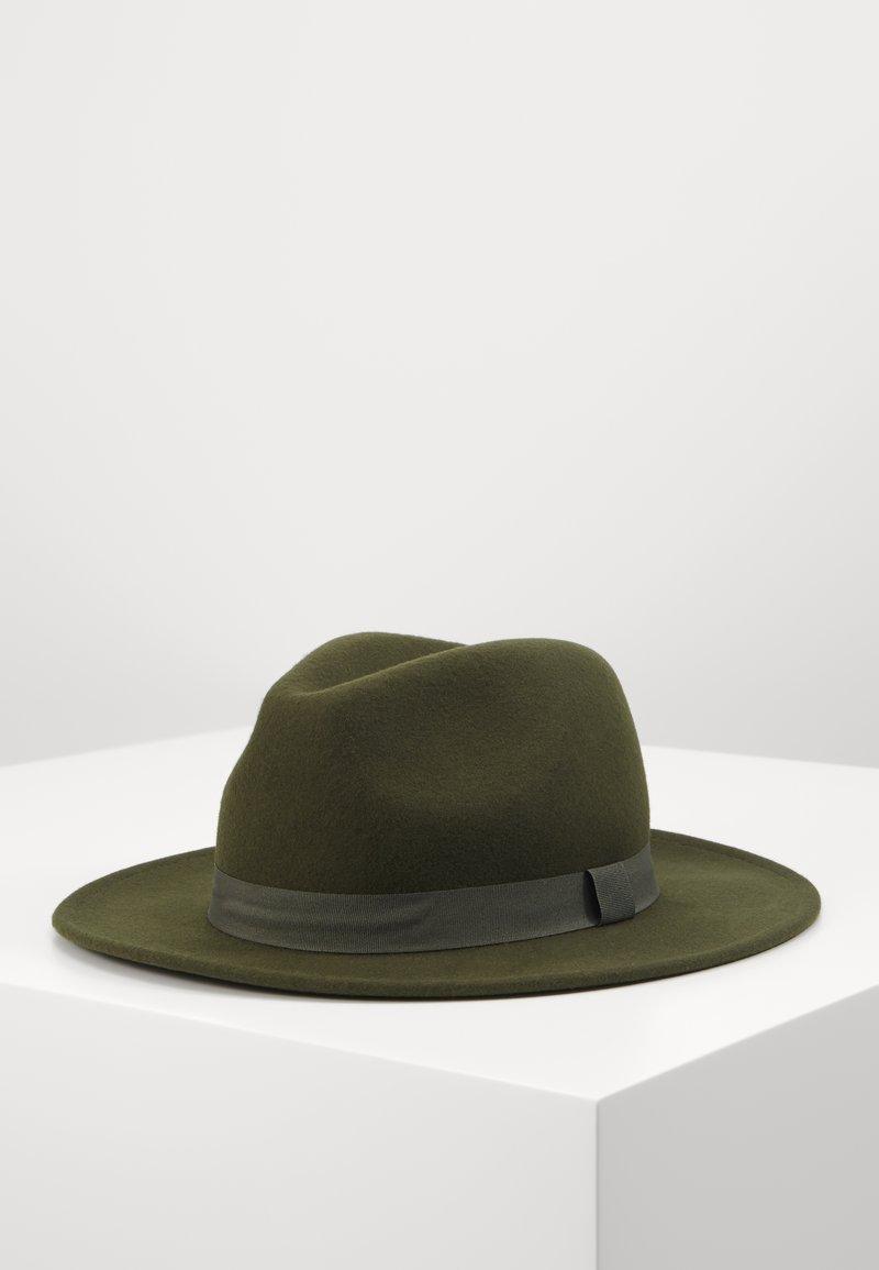 Topman - MELTON FEDORA - Hat - khaki