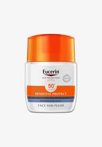Eucerin - SONNENSCHUTZ SUN SENSITIVE PROTECT FACE FLUID LSF 50+ - Sun protection - - - 0