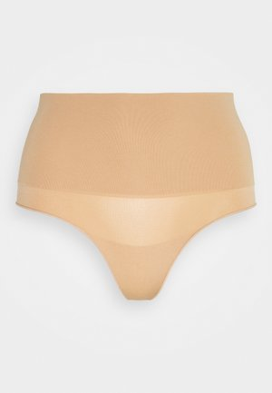 TAKE CONTROL HIGH WAIST G STRING - Thong - pecan fudge