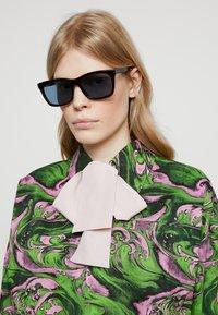 Gucci - Sunglasses - havana/light blue - 3