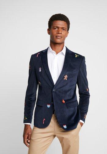 X-MAS ICONS - Blazer jacket - navy