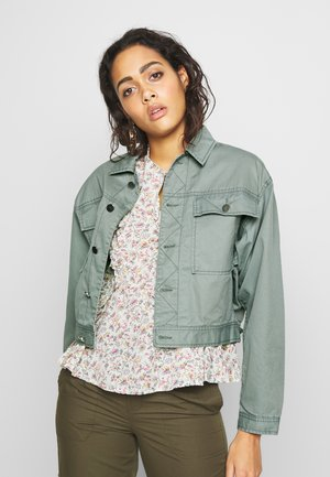 TUXEN JACKET - Denim jacket - laurel green