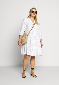 Zizzi - MCATA - Day dress - white - 1