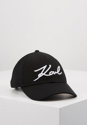 SIGNATURE CAP - Cap - black