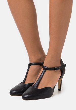 WOMS - Classic heels - black metallic