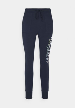 LOGO FLEGGING - Leggings - navy patch pockets
