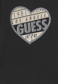Guess - JUNIOR  - T-shirt à manches longues - jet black - 2
