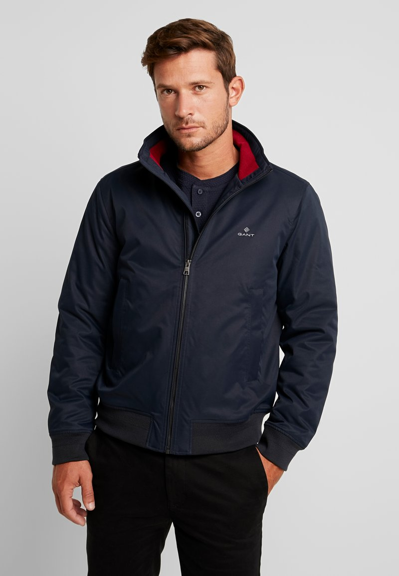 GANT - THE HAMPSHIRE JACKET - Bomber Jacket - navy
