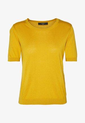 VOLTO - Print T-shirt - gelb