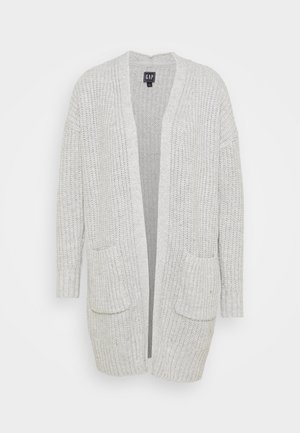 MARLED POCKET - Cardigan - grey