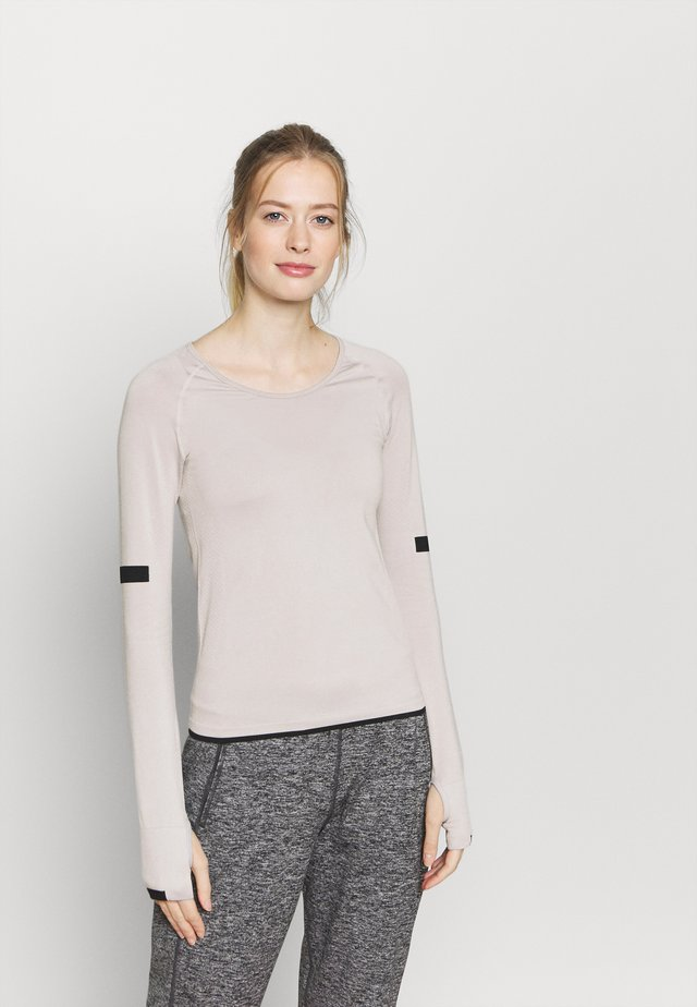 SEAMLESS  - Long sleeved top - grey