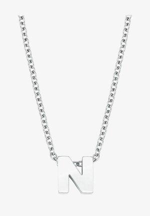 BUCHSTABE N - Necklace - silber