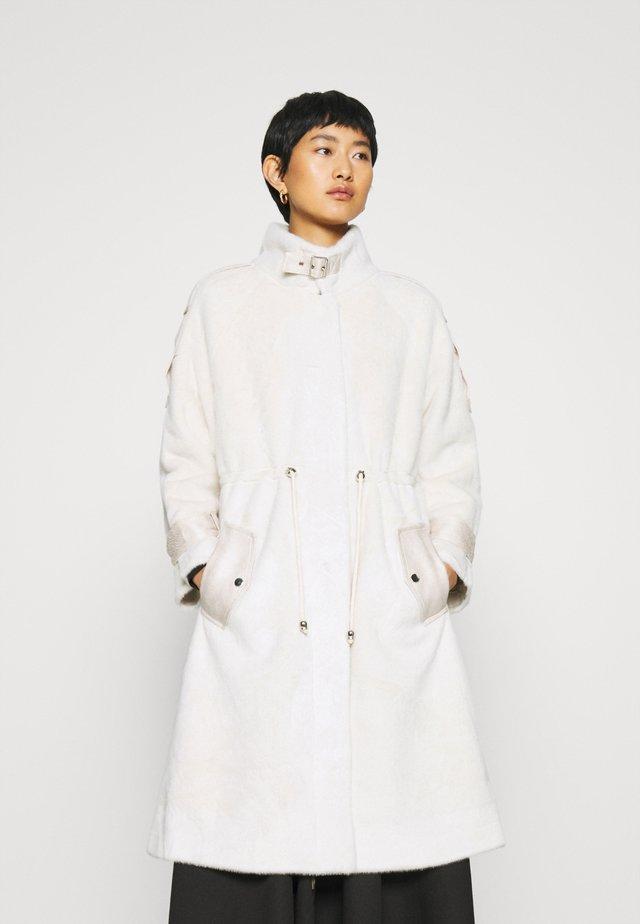 SAGESSE VESTE - Classic coat - ecru