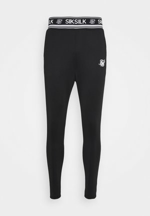 ATHLETE TRACK PANTS - Tracksuit bottoms - black