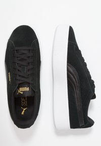 Puma - VIKKY STACKED - Baskets basses - black/white - 3