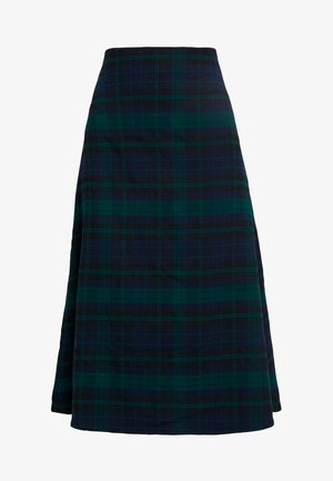 FLARE SKIRT - A-linjainen hame - blackwatch