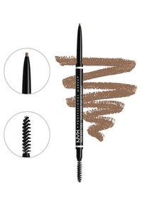Nyx Professional Makeup - MICRO BROW ESSENTIALS – MIRCRO BROW PENCIL - Makeup set - taupe - 4