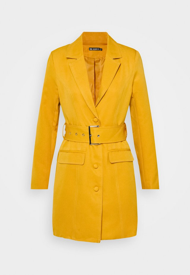 BELTED BLAZER DRESS - Robe de soirée - orange