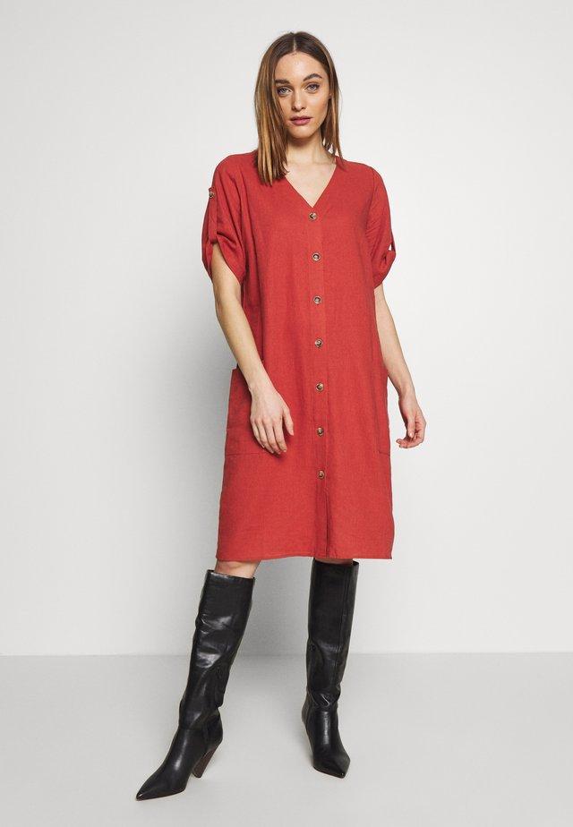Shirt dress - ziegel orig