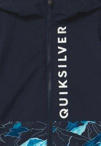 Quiksilver - SIDE HIT UNISEX - Snowboardová bunda - brilliant blue - 2