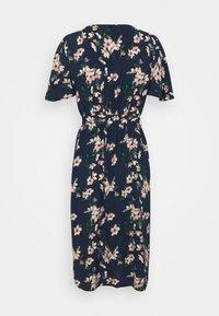 Vero Moda Petite - VMSIMPLY EASY CALF SHIRTDRESS - Maxi dress - navy blazer/imma - 1