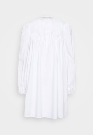 VITA THINK TWICE - Vestido camisero - bright white